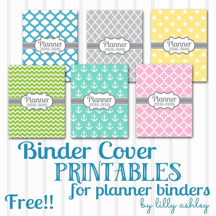 Free Binder Covers and Spines Luxury 17 Best Images About organize On Pinterest
