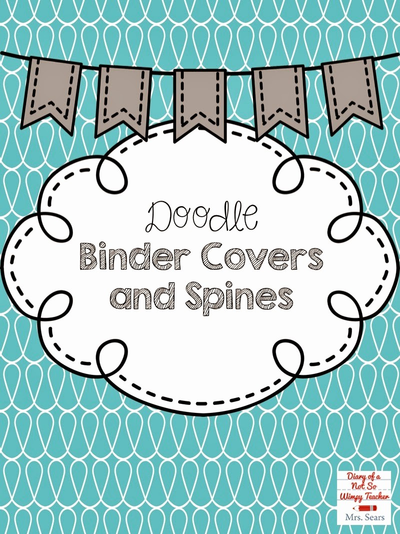 Free Binder Covers and Spines Luxury Diary Of A Not so Wimpy Teacher Diggin Into Next Year