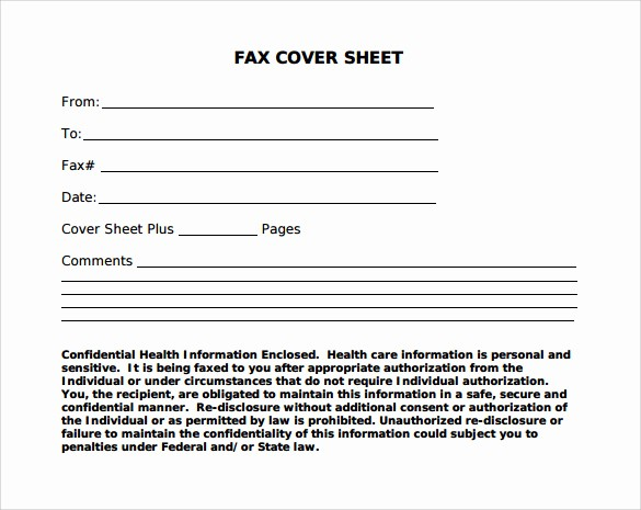 Free Blank Fax Cover Sheet Inspirational 12 Fax Cover Sheet Samples Templates Examples