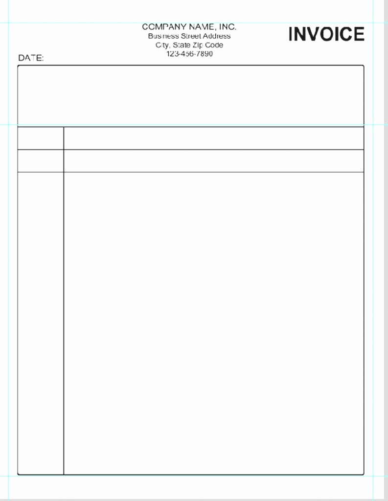 Free Blank Invoice Template Word Inspirational Blank Receipt Template Word Hotel 12 Free Printable form
