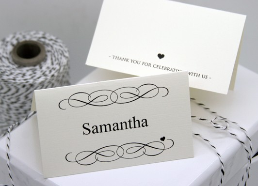 Free Blank Place Card Template Best Of Free Diy Printable Place Card Template and Tutorial