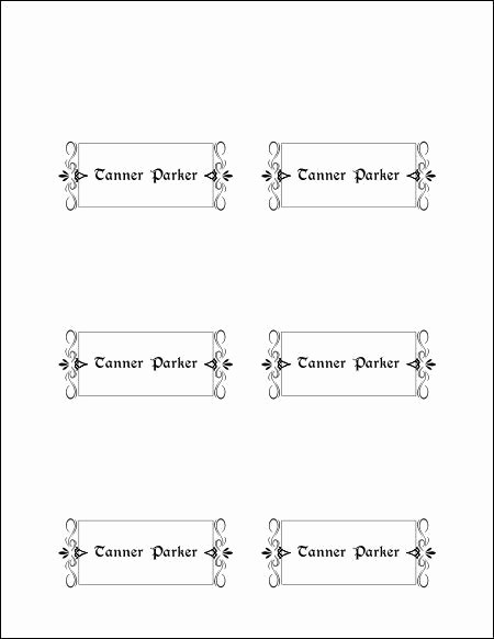 Free Blank Place Card Template Inspirational Free Printable Blank Place Card Template