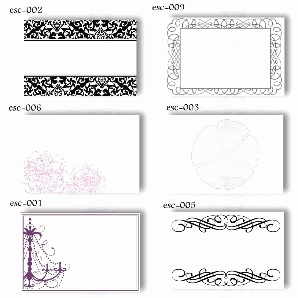 Free Blank Place Card Template Luxury Name Card Template