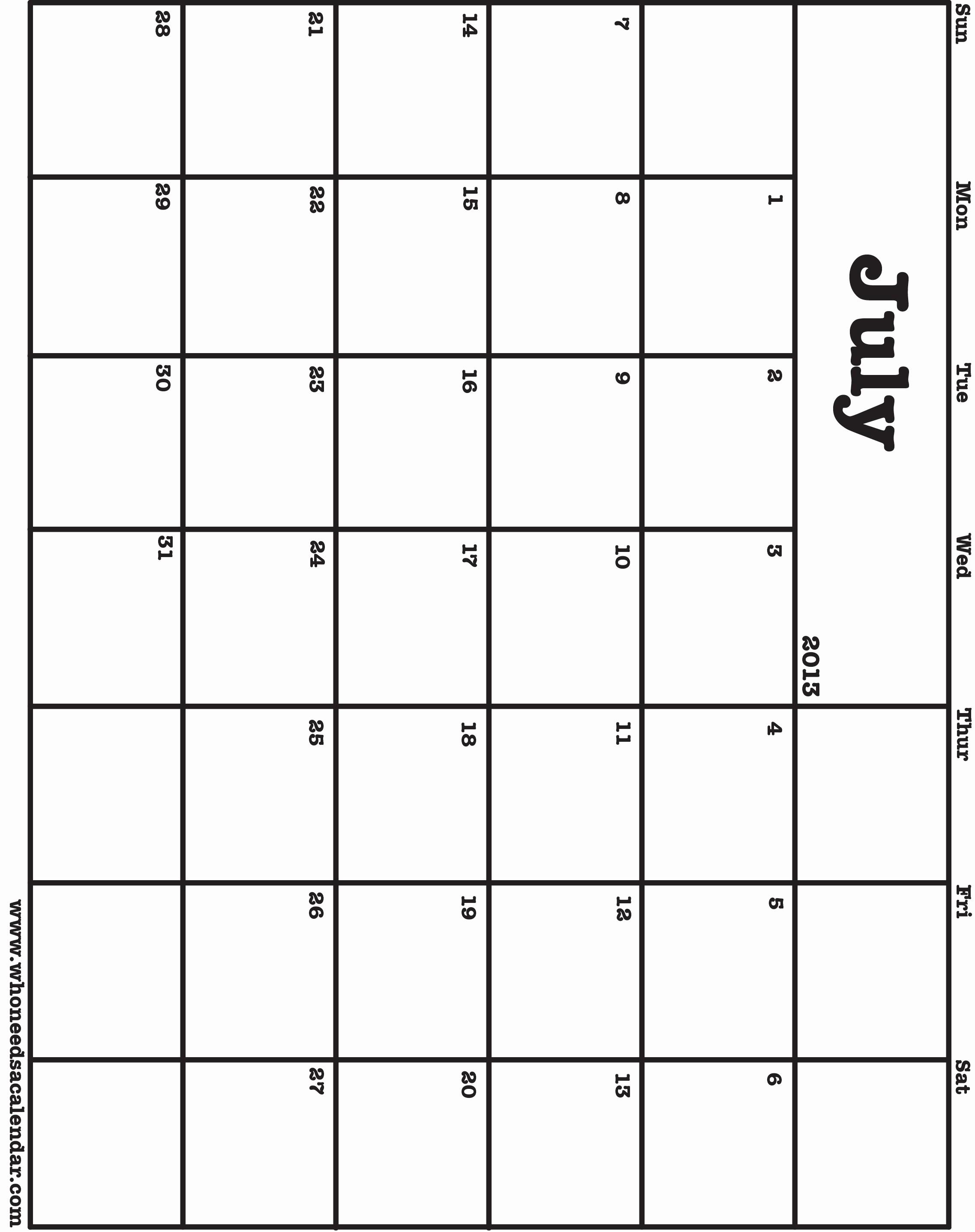 Free Blank Printable Calendar 2017 Awesome Print A Blank Calendar – 2017 Printable Calendar
