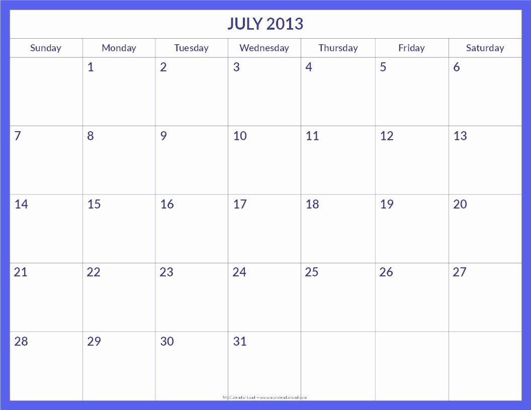 Free Blank Printable Calendar 2017 Beautiful Blank Calendar Templates – 2017 Printable Calendar