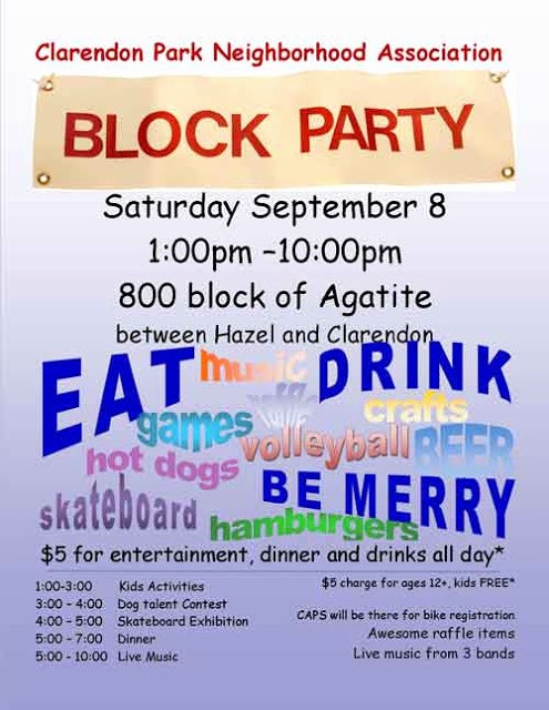 Free Block Party Flyer Template Awesome Uptown Update Cpna Block Party Seeking Doggie Divas