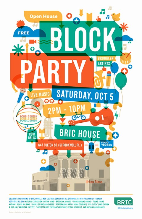 Free Block Party Flyer Template Best Of Block Party Flyer Ibrizz
