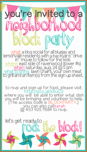 Free Block Party Flyer Template New 4 Block Party Flyer Template Bookletemplate