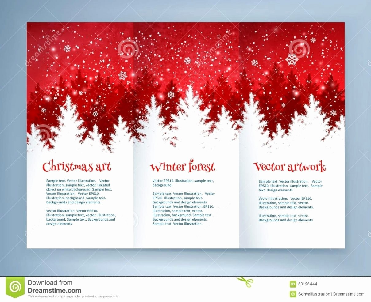 Free Brochure Templates for Mac Elegant Christmas Flyer Template Free for Mac