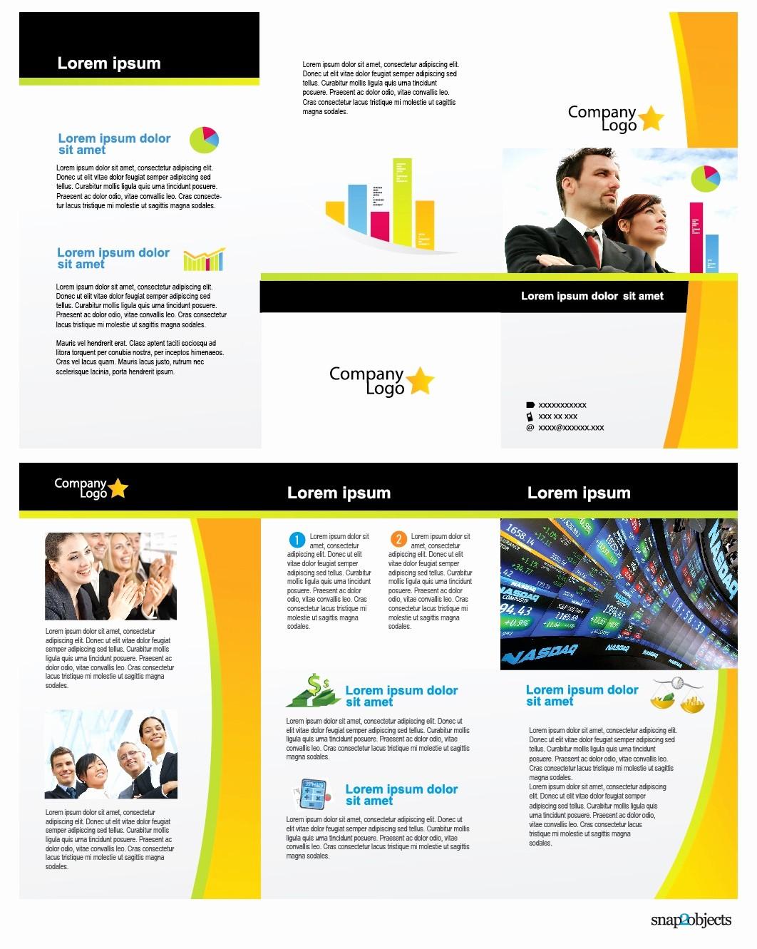 Free Brochure Templates for Mac Inspirational 50 Awesome Brochure Templates for Mac