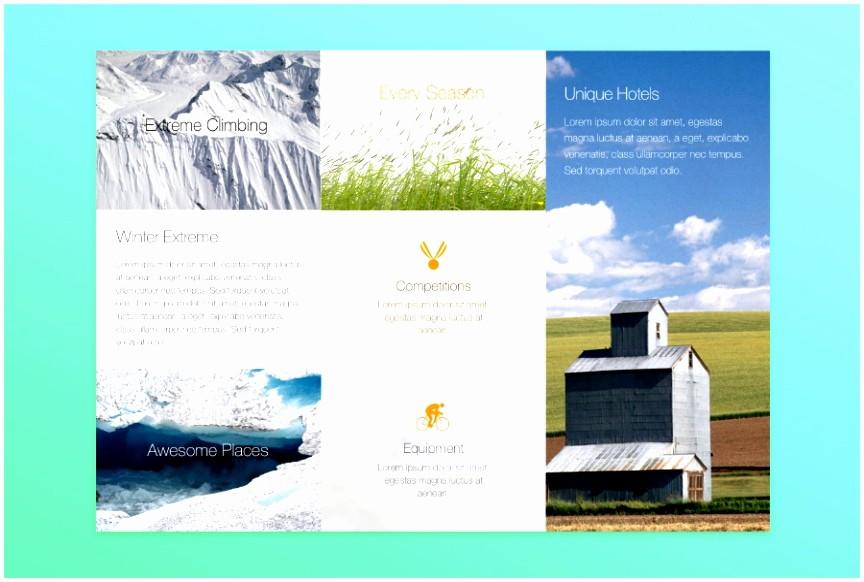 Free Brochure Templates for Mac Luxury 5 Bi Fold Brochure Template Publisher Htwow