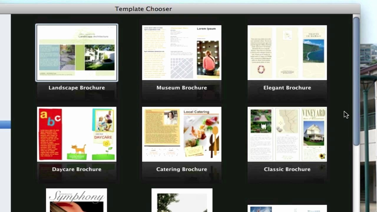 Free Brochure Templates for Mac New 50 Awesome Brochure Templates for Mac