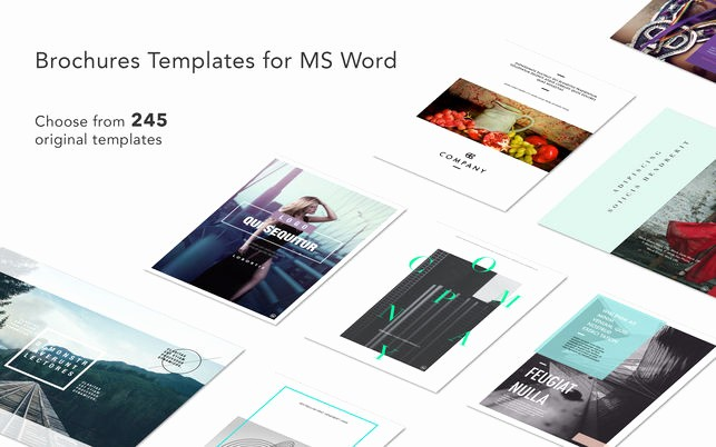 Free Brochure Templates for Mac New brochures Expert Templates for Ms Word On the Mac App Store