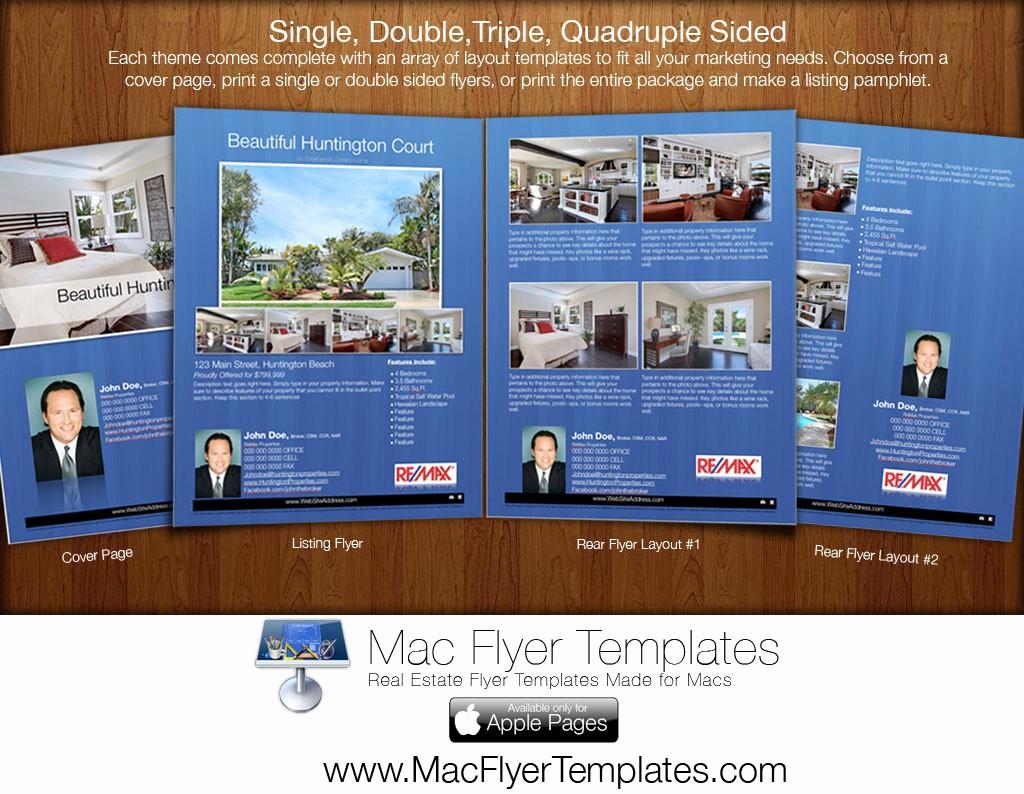 Free Brochure Templates for Mac New Sneak Peak Mac Flyer Templates