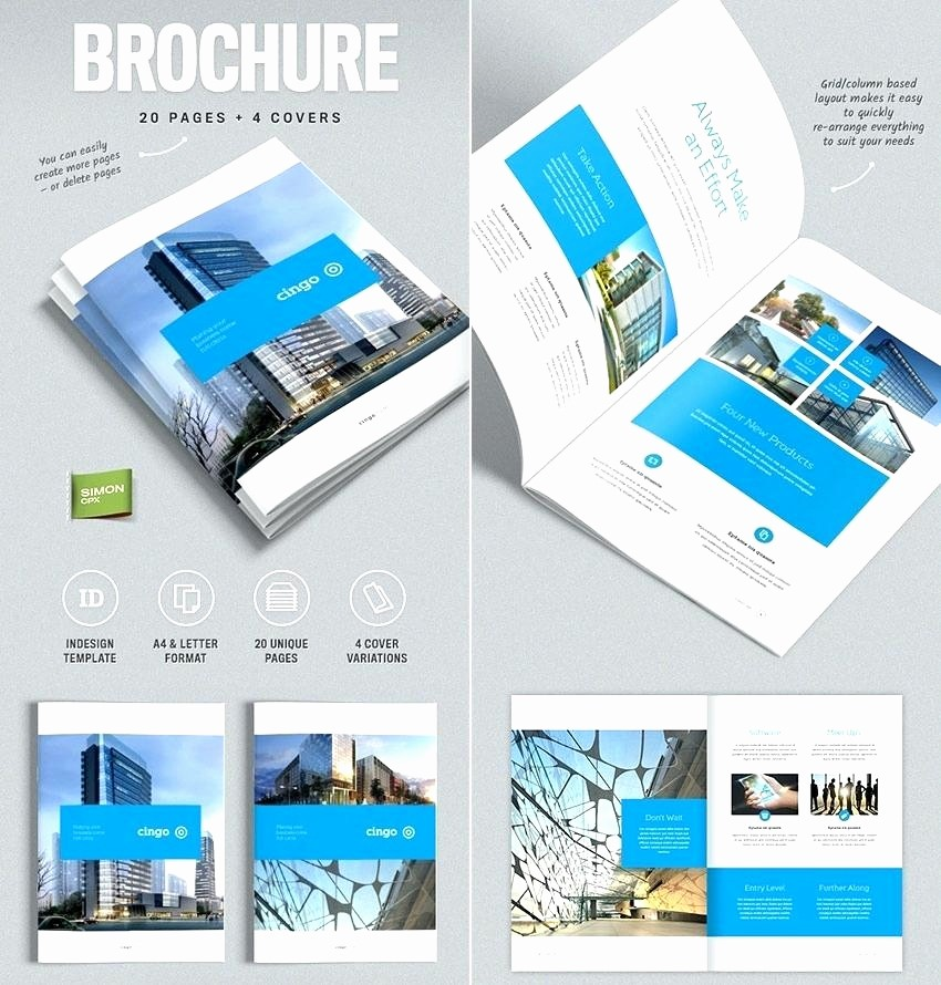 Free Brochure Templates for Mac Unique Pages Brochure Template Luxury 12 Pages Corporate Brochure