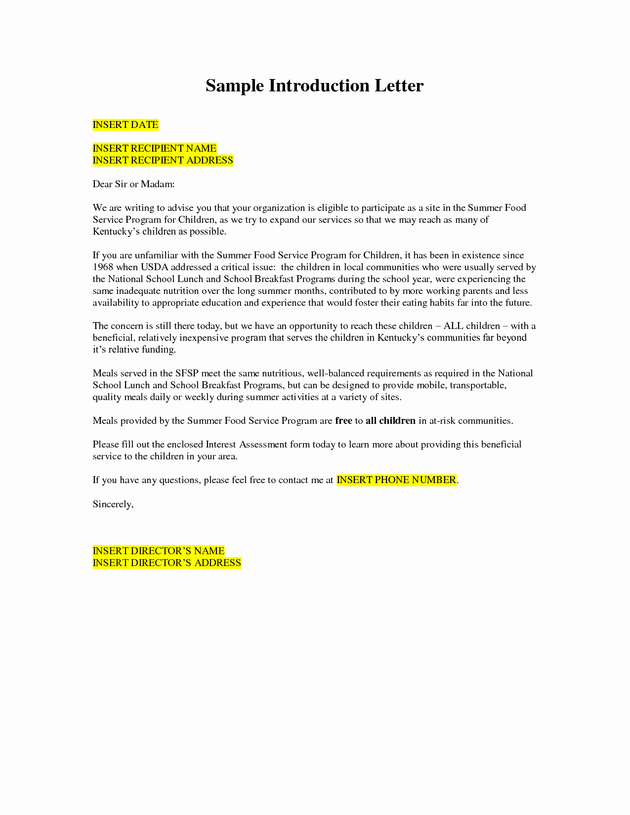 Free Business Letter Template Word Beautiful Business Introduction Letter Template