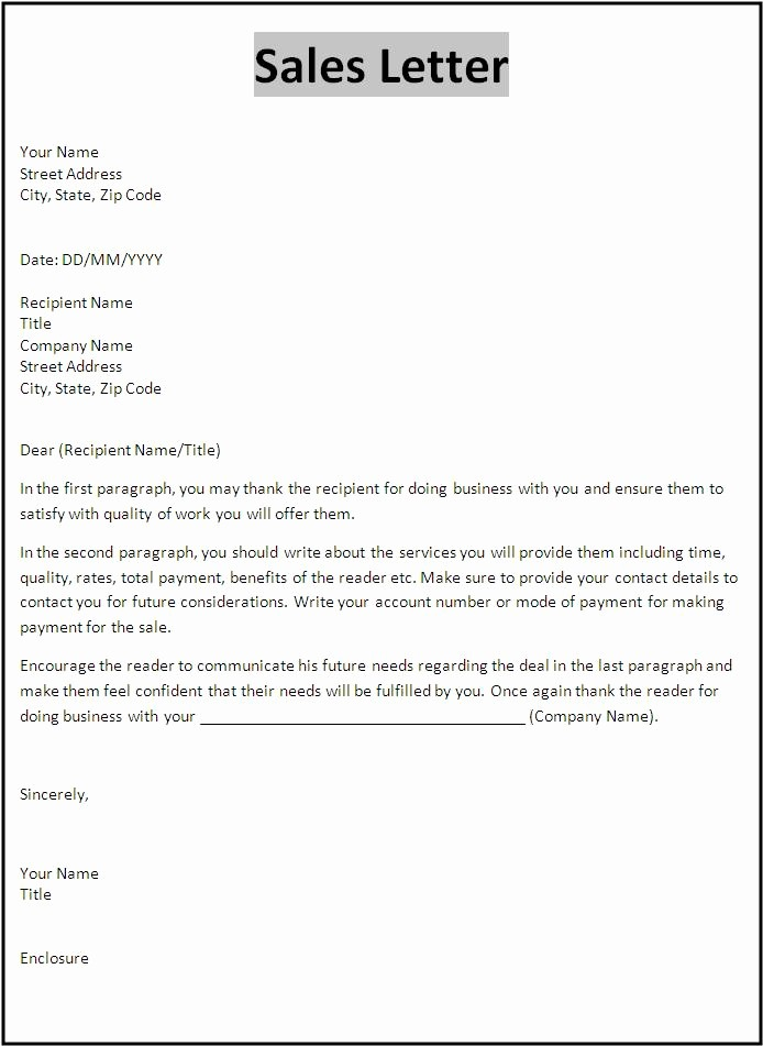 Free Business Letter Template Word Inspirational Letter Templates