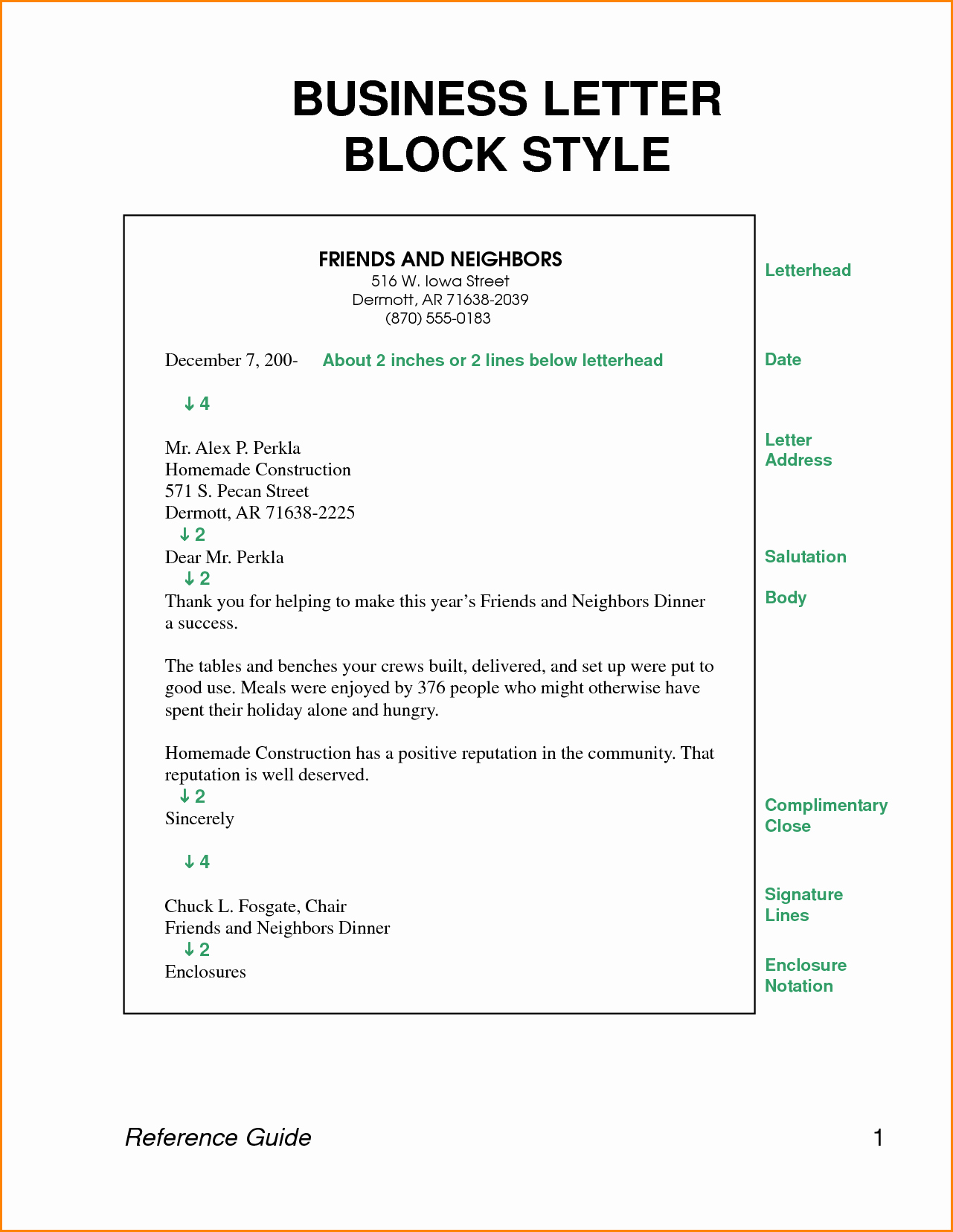 Free Business Letter Template Word Luxury Business Letter Block Style Letters format Free