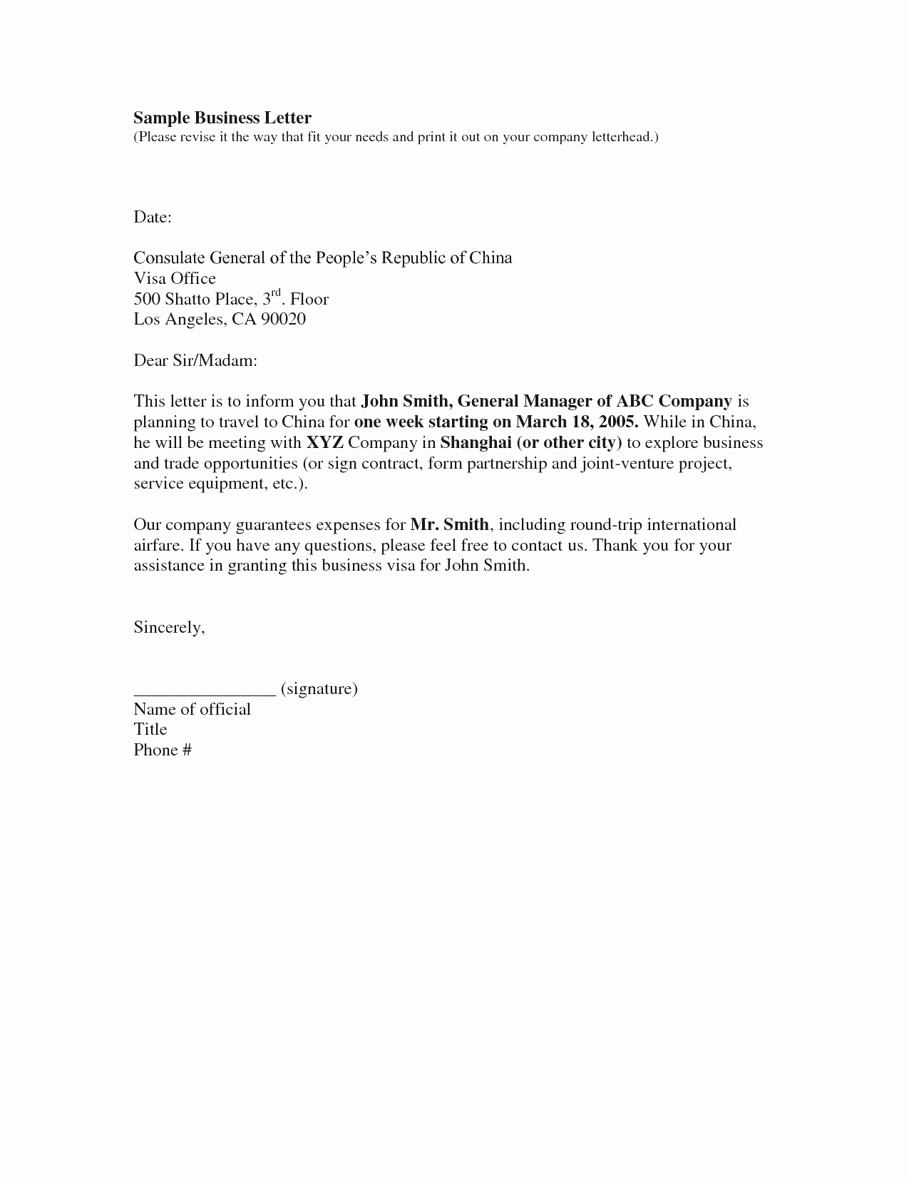 Free Business Letter Template Word Luxury Business Letter Template Free Example Mughals