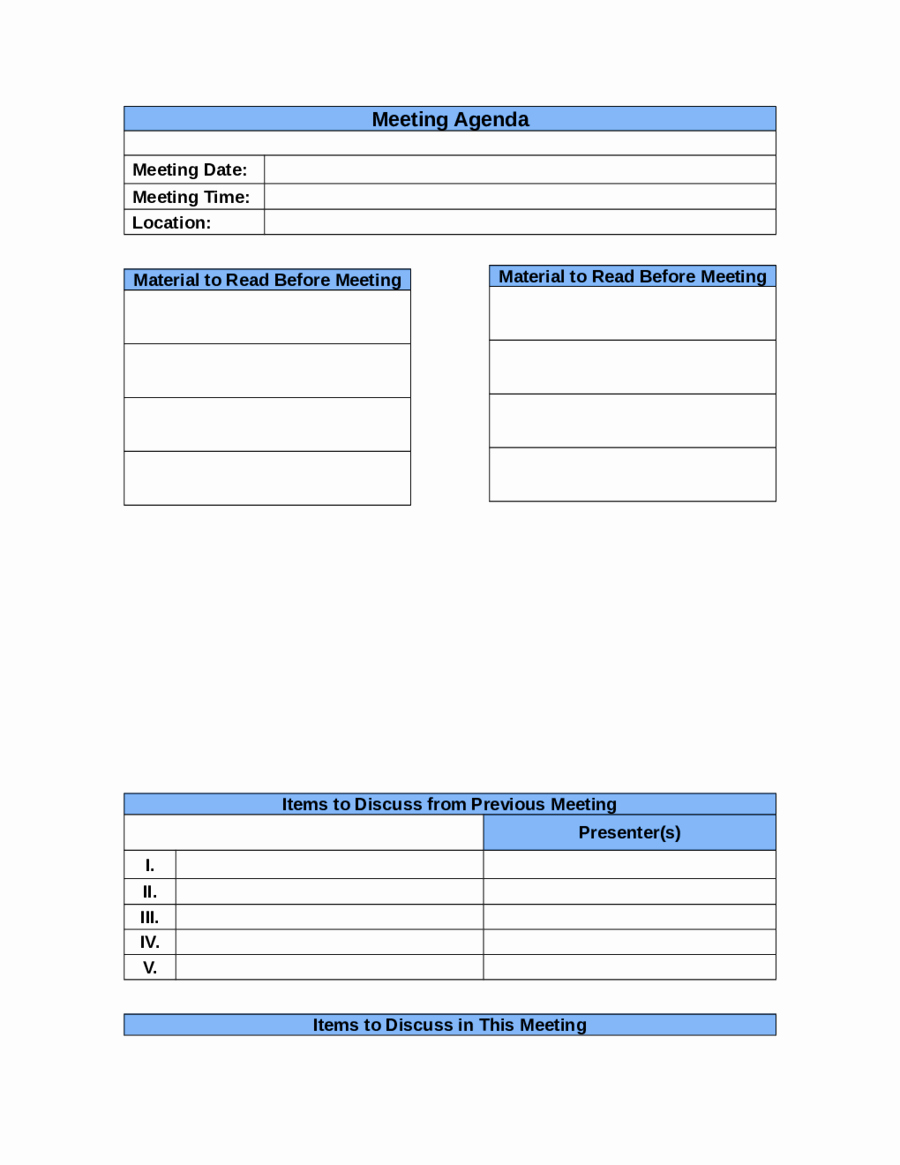Free Business Templates for Word Fresh Agenda Templates Example Mughals
