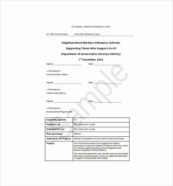 Free Business Templates for Word Inspirational 13 Business Case Templates Pdf Doc