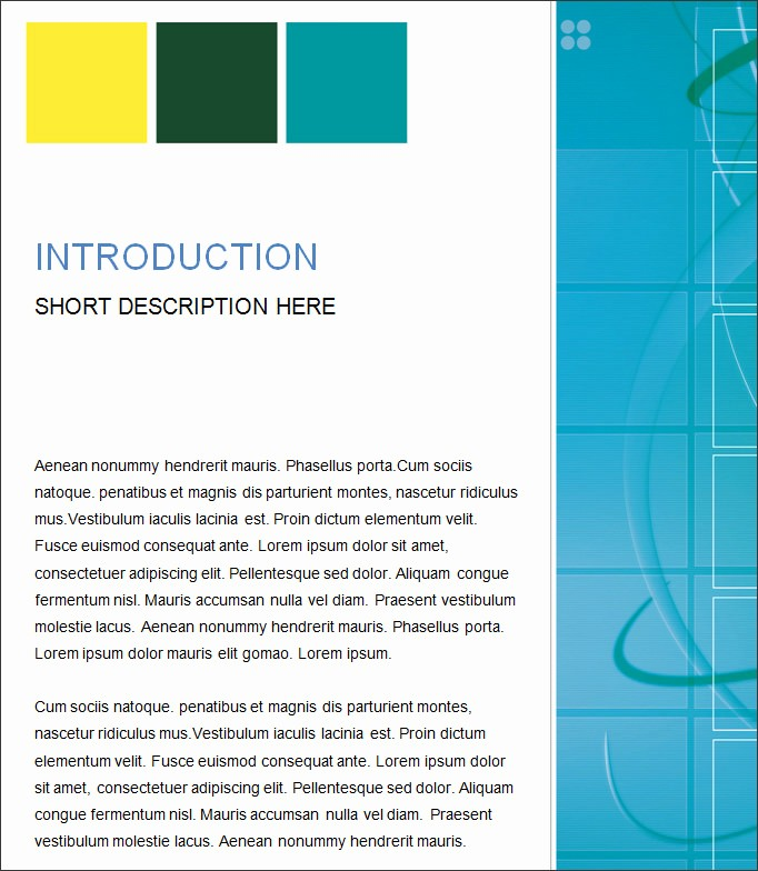 Free Business Templates for Word Inspirational 35 Business Report Template Free Sample Example
