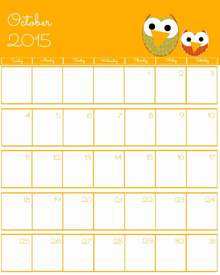 Free Calendar Templates August 2015 Awesome Free 2015 Printable Calendar