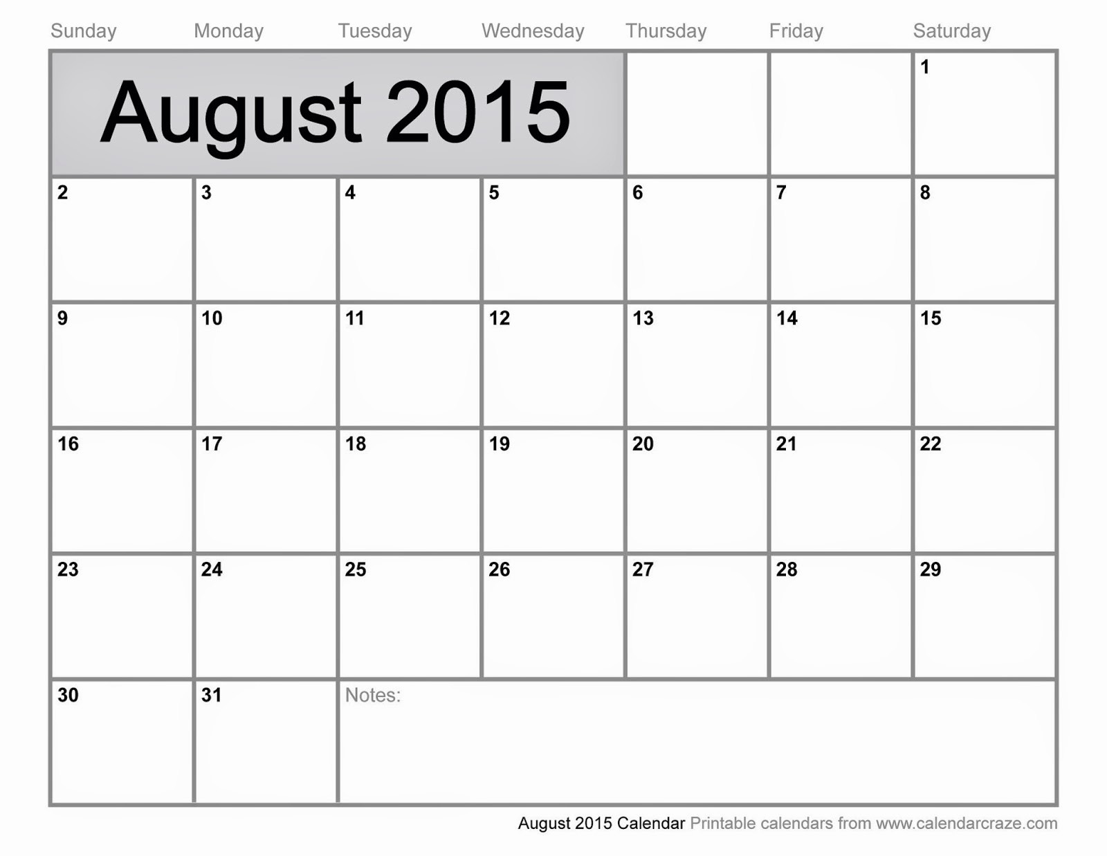 Free Calendar Templates August 2015 Awesome Free Printable Calendar 2018 Free Printable Calendar August