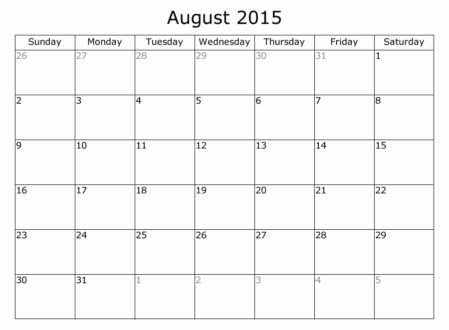 Free Calendar Templates August 2015 Lovely August 2015 Calendar with Holidays Template Download A