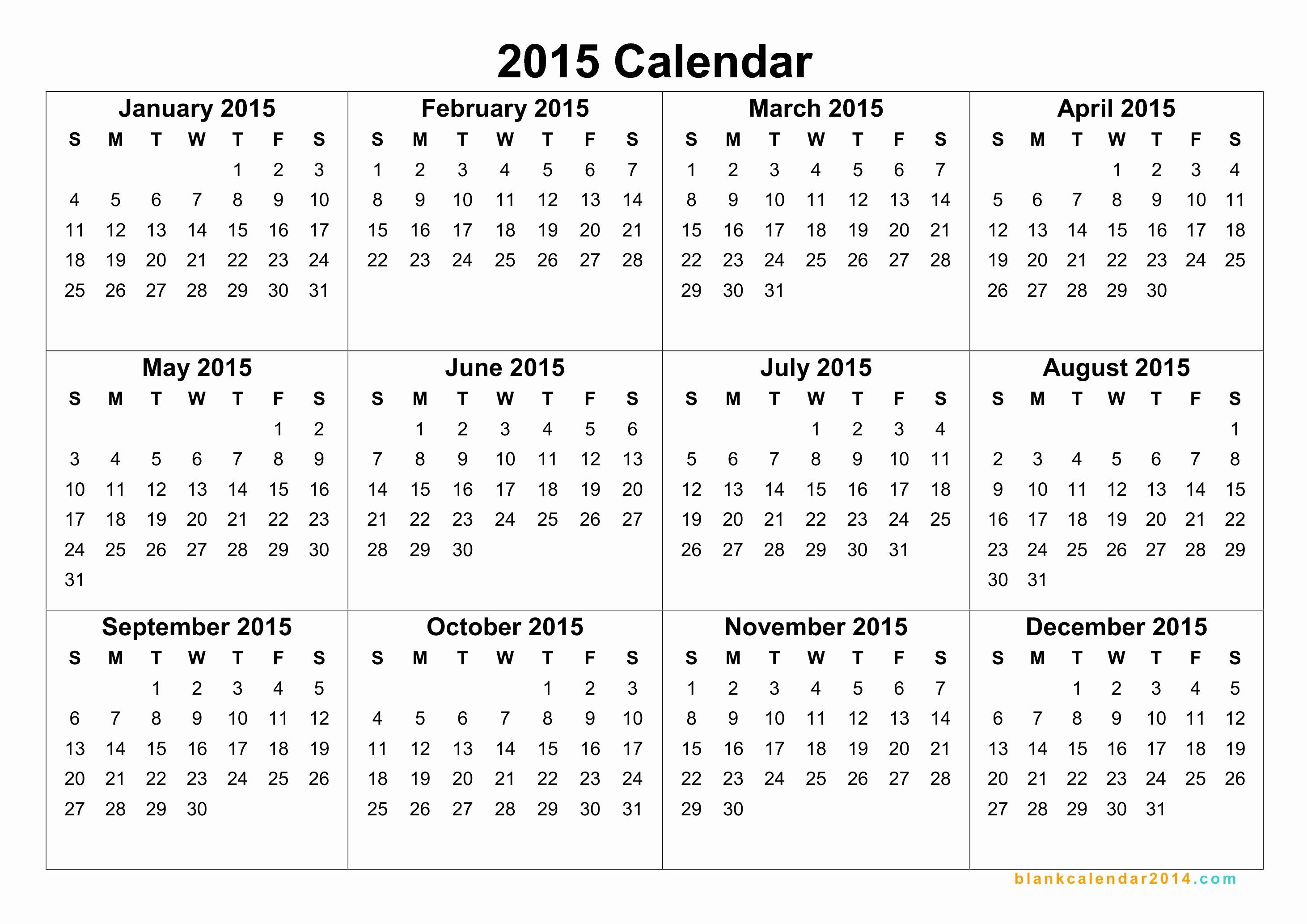 Free Calendar Templates August 2015 Luxury 2015 Calendar Free Yearly Calendar Templates