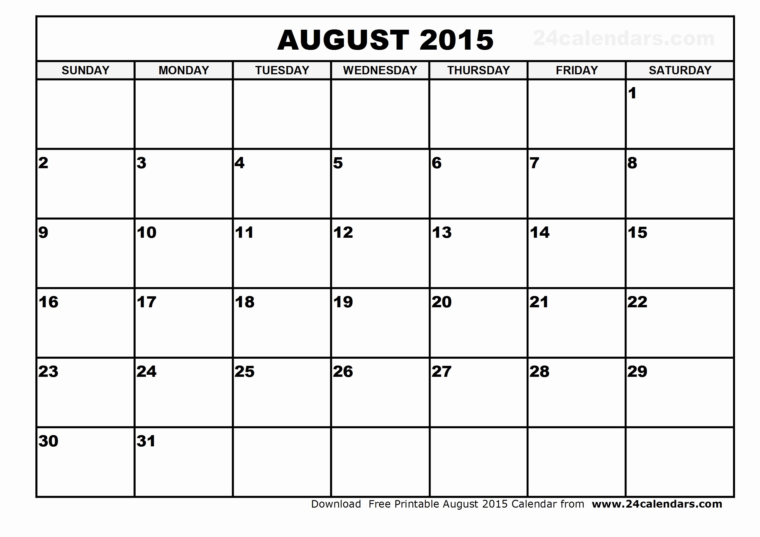 Free Calendar Templates August 2015 Luxury Free Printable July August Calendar