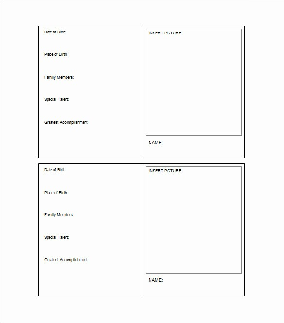 Free Card Templates for Word Beautiful 33 Trading Card Template Word Pdf Psd Eps