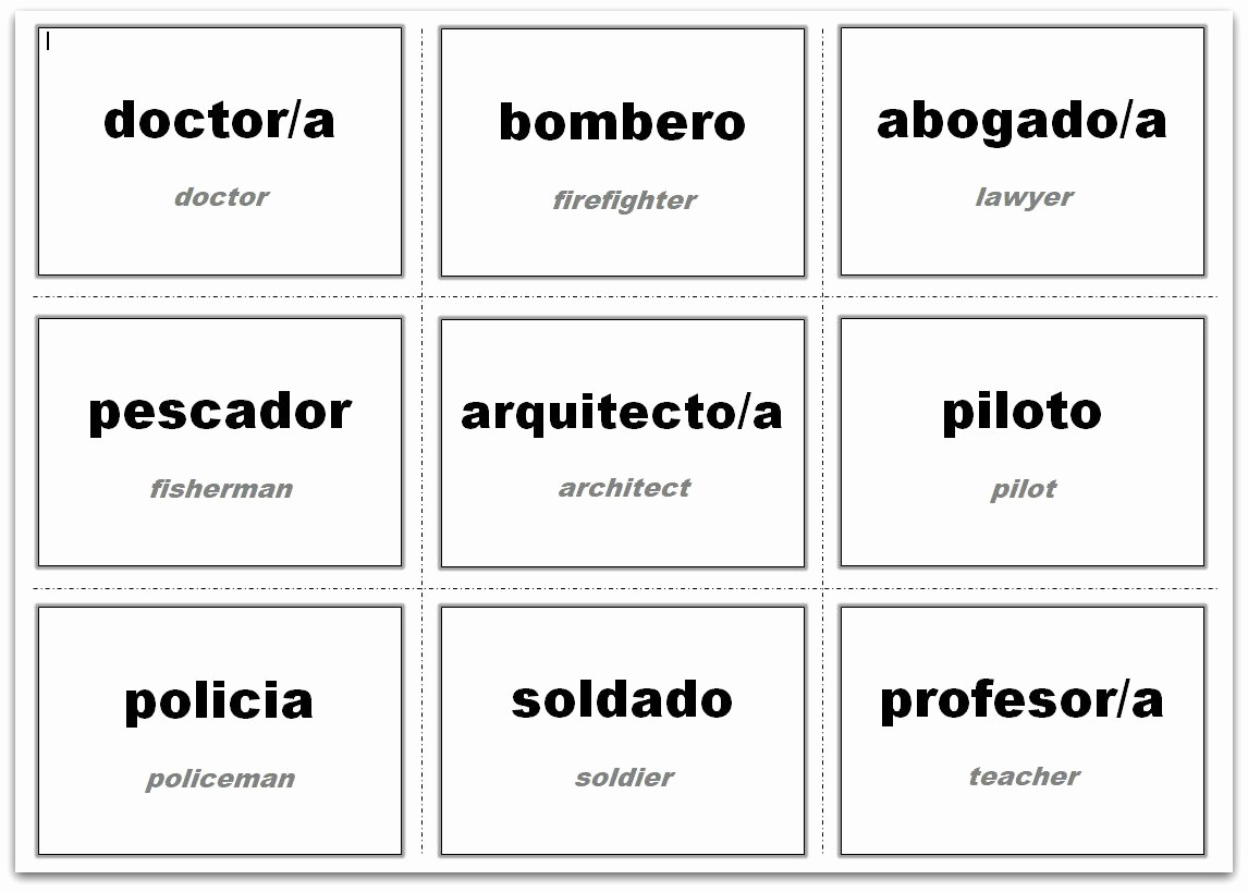 Free Card Templates for Word Best Of Vocabulary Flash Cards Using Ms Word