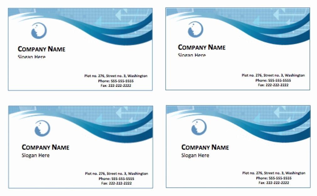 Free Card Templates for Word Fresh Download Business Card Template Word Beautiful Template