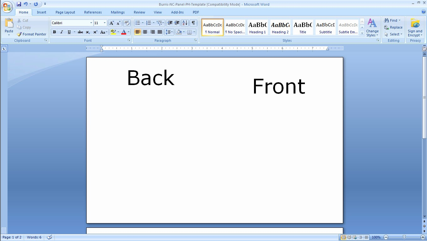 Free Card Templates for Word Fresh Flash Card Template Word