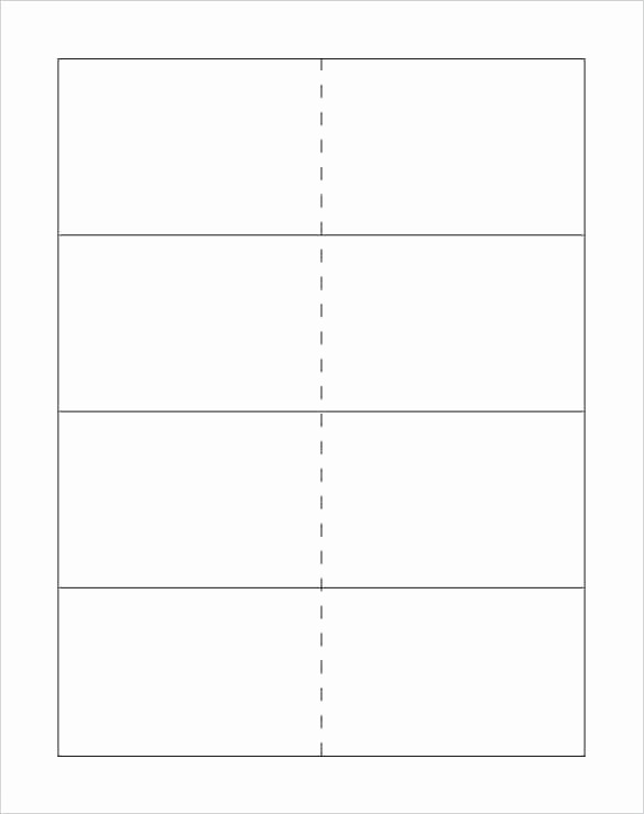 Free Card Templates for Word Lovely Word Cue Card Template Cards Blank Flash Small Microsoft