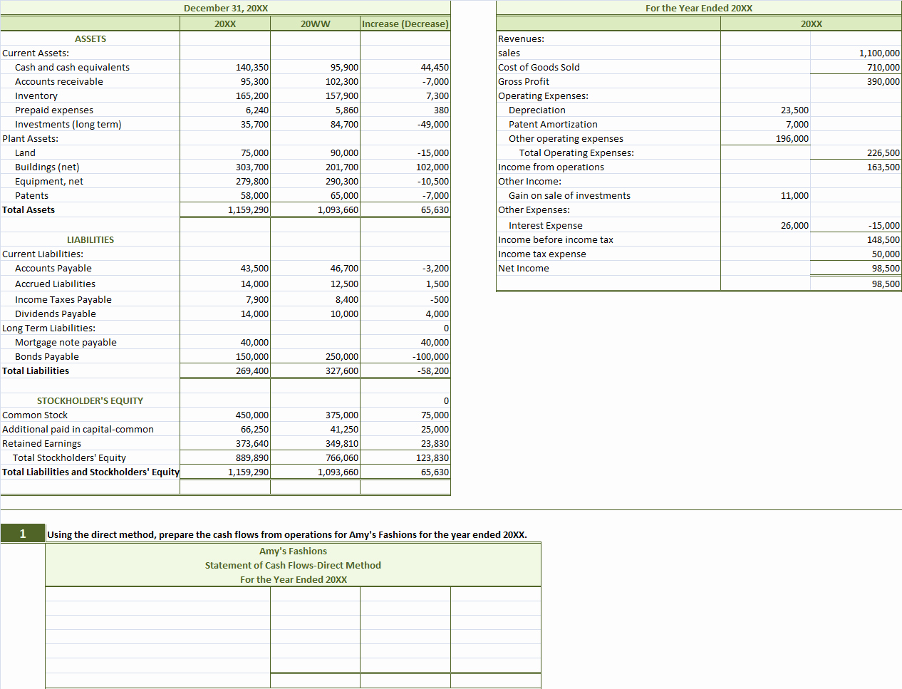 Free Cash Flow Statement Template Elegant Template Free Printables Cash Flow Statement Template