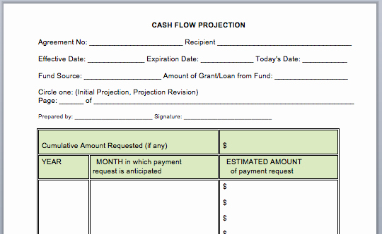 Free Cash Flow Statement Template Unique Cash Flow Statement Template Microsoft Word Templates