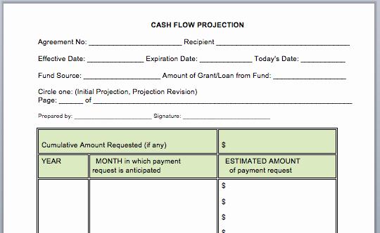 Free Cash Flow Statement Template Unique Cash Flow Statement Template Microsoft Word Templates