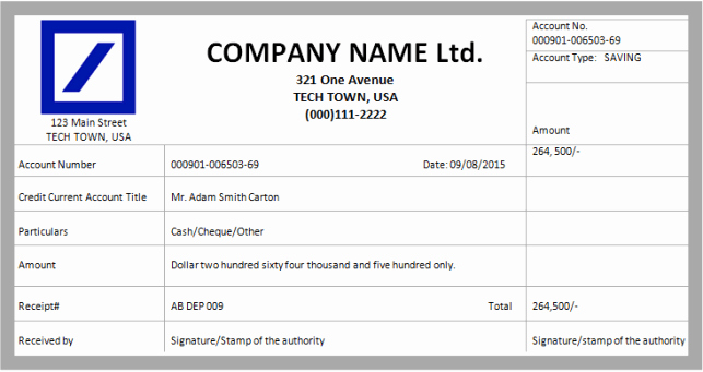 Free Cash Receipt Template Word Awesome 8 Cash Receipt Templates Word Excel Pdf formats
