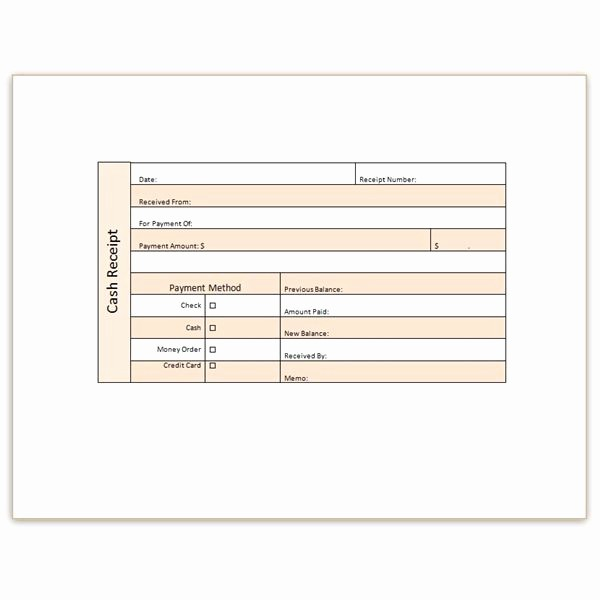 Free Cash Receipt Template Word Beautiful Download A Free Cash Receipt Template for Word or Excel