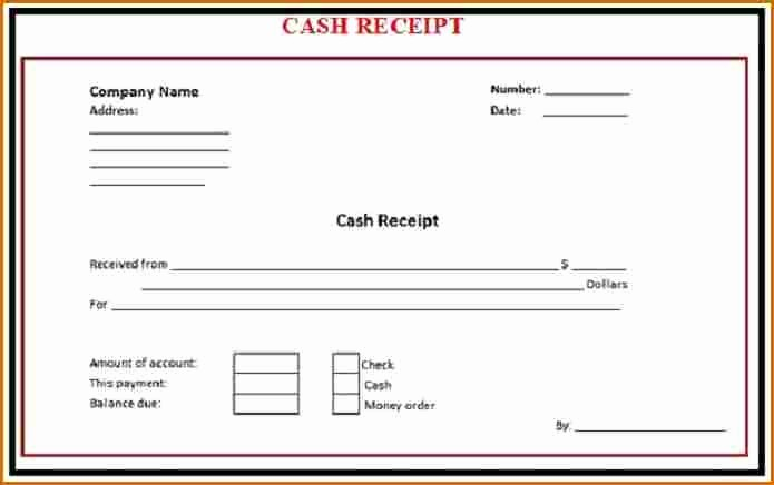 Free Cash Receipt Template Word Luxury 6 Cash Receipt Template Word