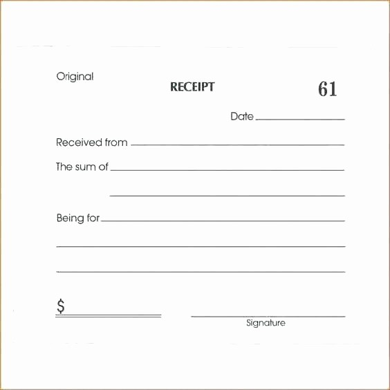 Free Cash Receipt Template Word New Cash Journal Template Receipts Receipt for Payment Samples