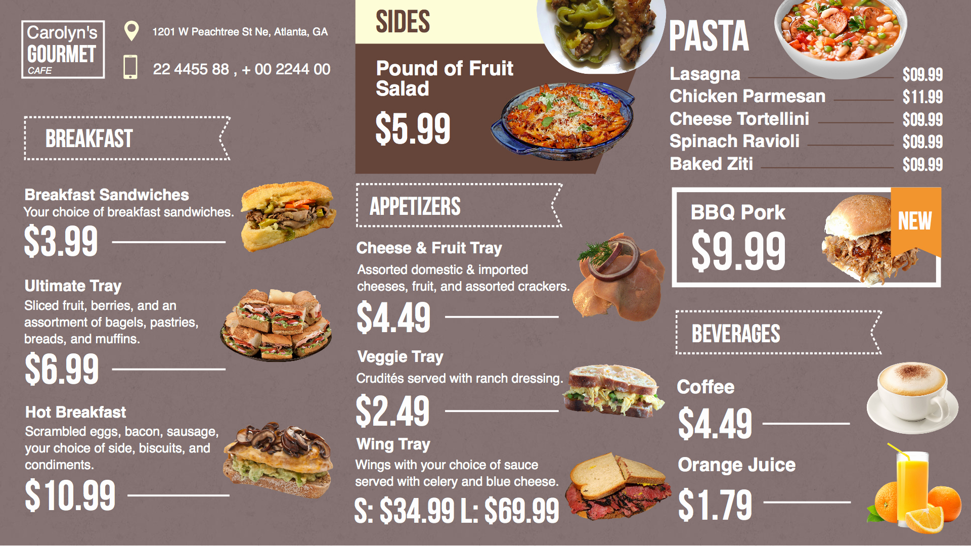 Free Catering Menu Templates Download Beautiful Restaurant Menu Templates Free Download