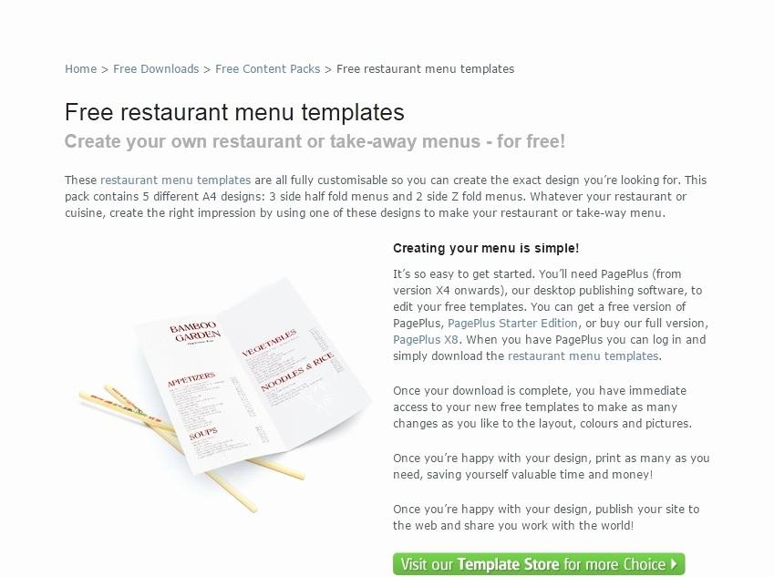 Free Catering Menu Templates Download Elegant Restaurant Menu Templates Free Download