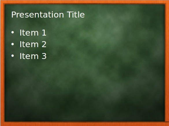 Free Chalkboard Background for Powerpoint Awesome 9 Chalkboard Powerpoint Templates Ppt Pptx