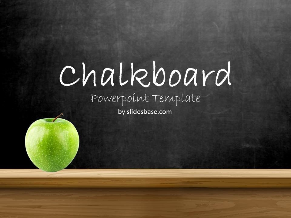 Free Chalkboard Background for Powerpoint Beautiful Blackboard Chalkboard Powerpoint Template
