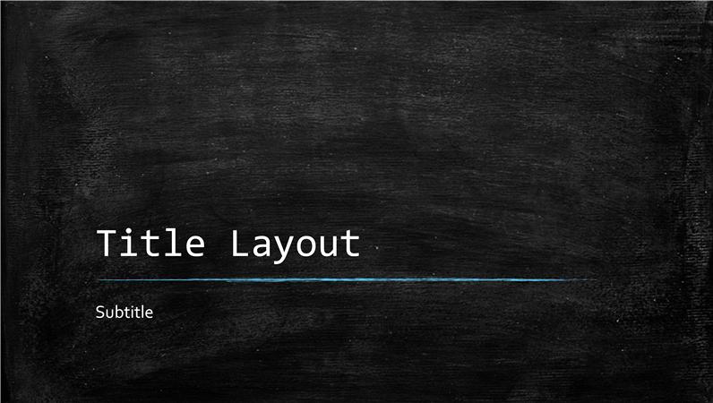 Free Chalkboard Background for Powerpoint New Chalkboard Education Presentation Widescreen