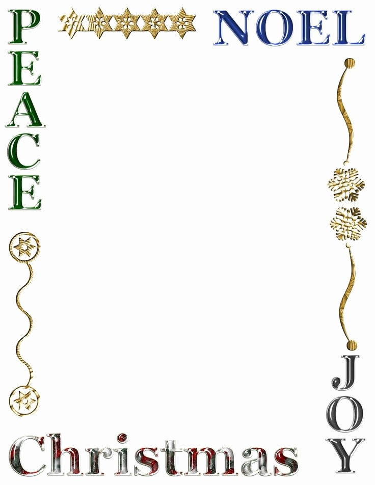 Free Christmas Borders for Letters Beautiful 111 Best Images About Christmas Stationery On Pinterest