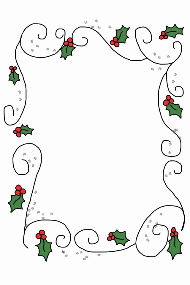 Free Christmas Borders for Letters Best Of 17 Best Images About Christmas Letter Printables On